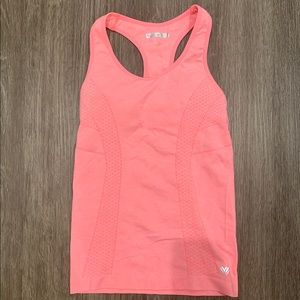 Forever 21 Light / Bright Pink Athletic Tank Top